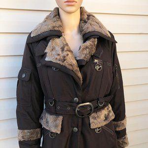 Dior Brown Fur Vintage Coat